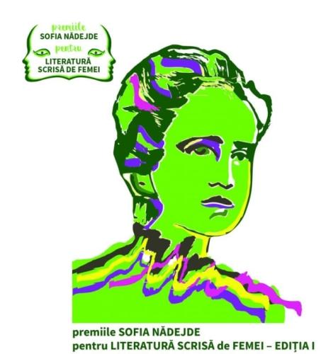Poster premiile Sofia Nadejde pentru literatura scrisa de femei